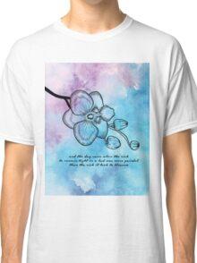 Anais Nin - Orchid Blossom Classic T-Shirt