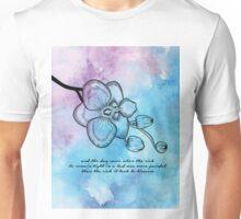 Anais Nin - Orchid Blossom Unisex T-Shirt