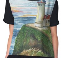 North Head Lighthouse Chiffon Top