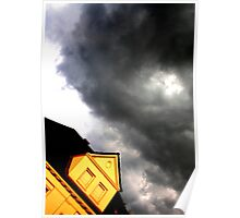 Storm Over The Villa Poster
