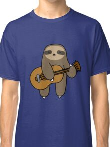 Guitar Sloth Classic T-Shirt