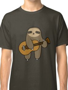 Guitar Sloth Classic T-Shirt