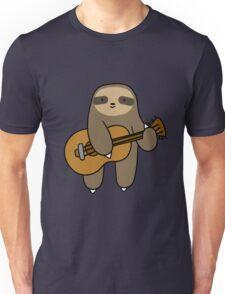 Guitar Sloth Unisex T-Shirt