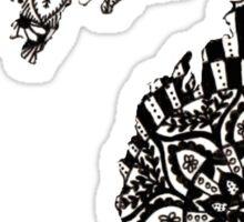 Michigan Zentangle/Mandala Sticker