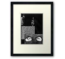 Hollow Man Mayday Framed Print