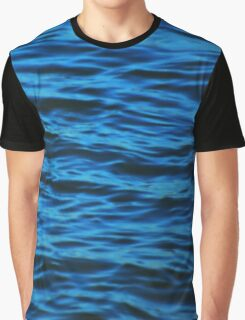 Cool Blue Graphic T-Shirt