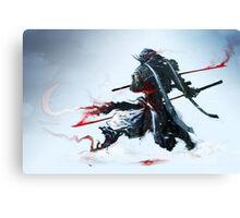 Samurai Spirit III Canvas Print