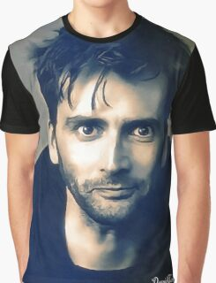 David Tennant Portrait Graphic T-Shirt