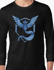 Team Mystic - Pokemon GO (Distress) Long Sleeve T-Shirt