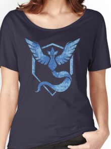 Team Mystic - Pokemon GO (Distress) Women's Relaxed Fit T-Shirt
