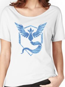 Team Mystic - Pokemon GO (Distress) Women's Relaxed Fit T-Shirt
