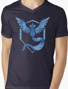 Team Mystic - Pokemon GO (Distress) Mens V-Neck T-Shirt