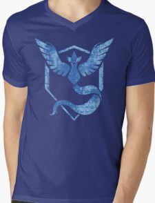 Team Mystic - Pokemon GO (Distress) Mens V-Neck T-Shirt