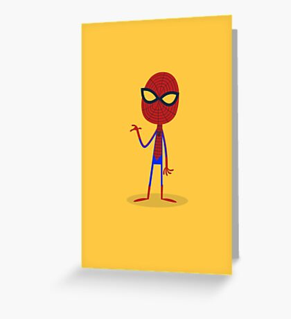 Little Spider-Man Greeting Card