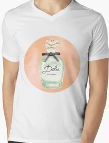 Fragance Dolce Mens V-Neck T-Shirt