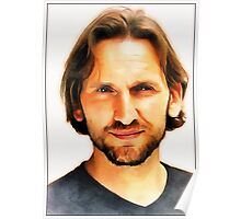 Christopher Eccleston Portrait Poster
