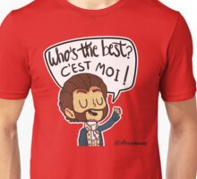 Who's the best? Unisex T-Shirt