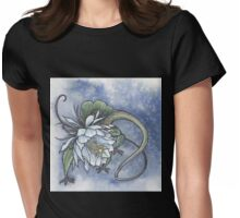 Epiphyllum head Womens Fitted T-Shirt