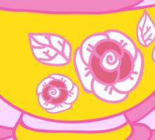 tea-drinking Sticker