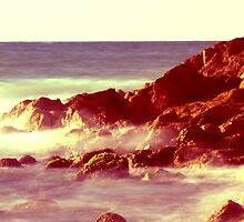 Rocks & Waves by Yorkwaypictures