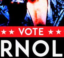 Arnold Schwarzenegger - Vote Arnold for President Sticker