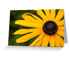 Yellow and black Greeting Card