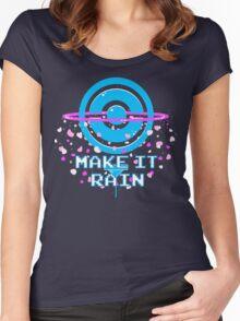 Pokemon Go - Make it Rain Women's Fitted Scoop T-Shirt