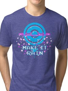 Pokemon Go PokeStop Make it Rain Tri-blend T-Shirt
