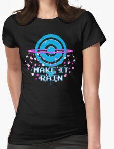 Pokemon Go PokeStop Make it Rain Womens Fitted T-Shirt