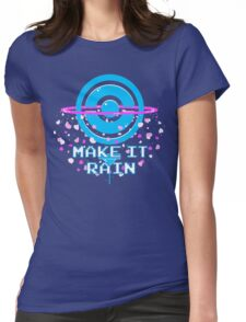 Pokemon Go - Make it Rain Womens Fitted T-Shirt