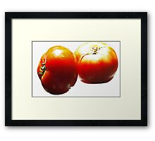 Kissed by the Sun !  Framed Print
