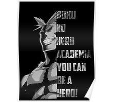boku no hero academia Fan Art Poster