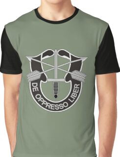 Special Forces - insignia (United States Army) Graphic T-Shirt