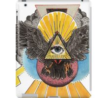 Flying Eye of  Providence iPad Case/Skin