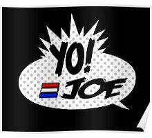 Yo Joe Raps! Poster