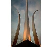 Air Force Memorial #2 Photographic Print