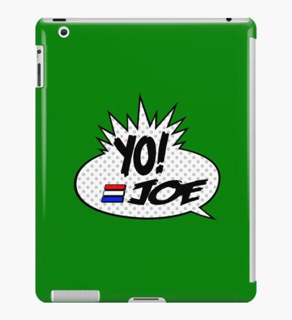 Yo Joe Raps! iPad Case/Skin