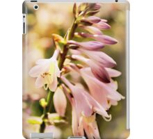 Backlit Hosta Flower iPad Case/Skin