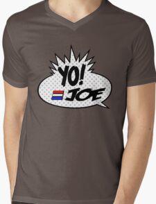 Yo Joe Raps! Mens V-Neck T-Shirt