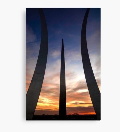 Air Force Memorial #3 Canvas Print