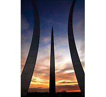 Air Force Memorial #3 Photographic Print