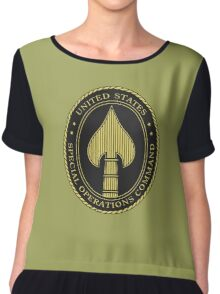 United States Special Operations Command Chiffon Top