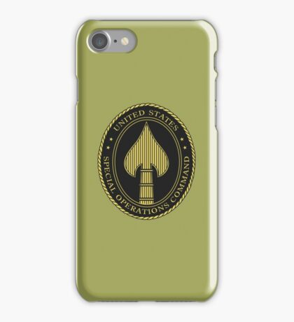 United States Special Operations Command iPhone Case/Skin