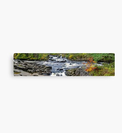Panorama of the Falls Of Dochart Canvas Print
