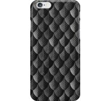Feather Armor Scales - Black  iPhone Case/Skin