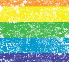 washington rainbow Sticker
