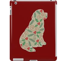 Christmas Holly Newfoundland iPad Case/Skin