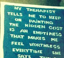 Street Poem Graffiti Sticker