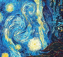 Vincent van Gogh Starry Night by astraea-nm