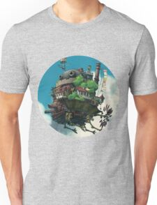 Howl's Moving Castle Circle Logo Unisex T-Shirt
